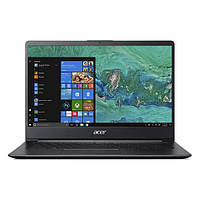 NX.H1YEU.004 Ноутбук Acer Swift 1 SF114-32 14FHD IPS/Intel Cel N4000/4/128F/int/Lin/Black, NX.H1YEU.004