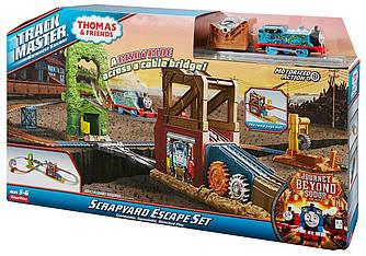 Моторизированный трек Томас и Друзья Побег со Свалки Fisher-Price Thomas & Friends TrackMaster Железная дорога