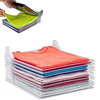 Бокс для хранения одежды EZSTAX пластиковый, 10 шт, органайзер для белья, кофр для хранения вещей