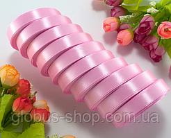 Атлас 1,2 см сиренево-розовая, 23 м