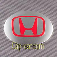 Наклейки для дисків з емблемою Honda. ( Хонда ) Ціна вказана за комплект з 4-х штук