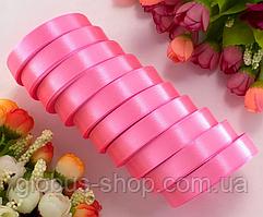 Атлас 1,2 см розовый, 23 м