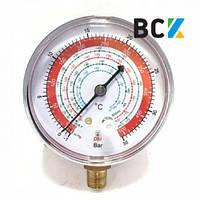 Манометр ZERO HVAC RG-500-R134A (R-407, R-22, R-134, R-404) (hq)