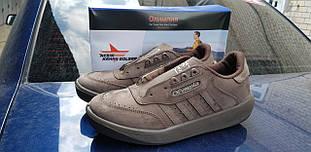 Чоловічі кросівки,Олімпія, Adidas коричневі