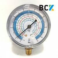 Манометр ZERO HVAC RG-250-R134A  (R-407, R-22, R-134, R-404) (hq)