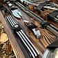"""Набор шампуров """"Бизон"""" Gorillas BBQ в деревянной коробке, фото 5"""