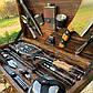 """Набор шампуров """"Бизон"""" Gorillas BBQ в деревянной коробке, фото 6"""