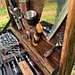 """Набор шампуров """"Бизон"""" Gorillas BBQ в деревянной коробке, фото 7"""