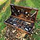"""Набор шампуров """"Бизон"""" Gorillas BBQ в деревянной коробке, фото 2"""