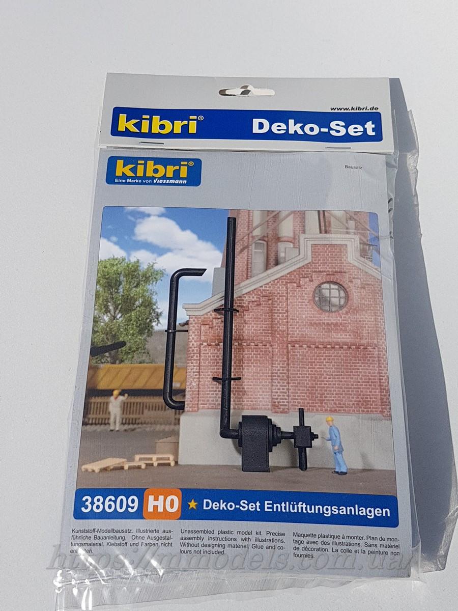 Kibri 38609 Аксесуари для моделювання залізничних будівель і макетів будівель, масштабу 1/87, H0