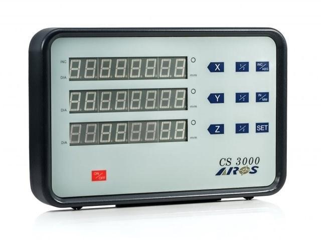 Двухкоординатное устройство цифровой индикации CS3000-2