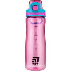Бутылочка для воды, 650 мл. K20-395-01 розовая