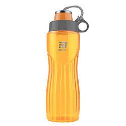 Бутылочка для воды, 800 мл., оранжевая
