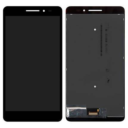 Дисплей (экран) для Lenovo PB1-770M Phab Plus с сенсором (тачскрином) черный, фото 2
