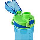Бутылочка для воды K20-395-02 650 мл, голубая, фото 2