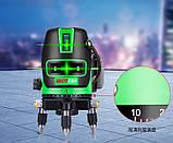 Лазерный уровень Hansite Лазерный невелир, фото 5