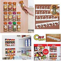 Держатель для специй и соусов - Clip n Store с двухсторонним скотчем
