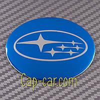 Наклейки для дисков с эмблемой Subaru. ( Субару ) Цена указана за комплект из 4-х штук