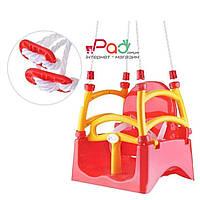 Качель пластиковая подвесная для детей, гойдалка дитяча, качелька детская Doloni