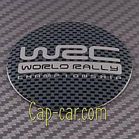 Наклейки для дисков с эмблемой Subaru WRC. ( Субару ВРС ) Цена указана за комплект из 4-х штук