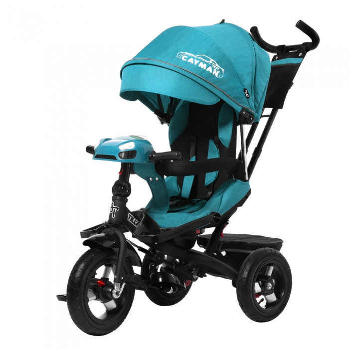 Велосипед трехколесный TILLY CAYMAN Бирюзовый велосипед для мальчика 1-3 года