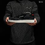 Мужские кроссовки Reebok Classic (черные) KS 1412, фото 2