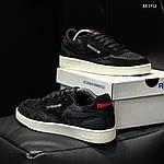 Мужские кроссовки Reebok Classic (черные) KS 1412, фото 4