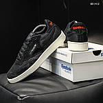 Мужские кроссовки Reebok Classic (черные) KS 1412, фото 5