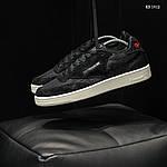 Мужские кроссовки Reebok Classic (черные) KS 1412, фото 7