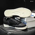 Мужские кроссовки Reebok Classic (черные) KS 1412, фото 8
