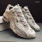 Мужские кроссовки Reebok (серые) KS 1418, фото 9