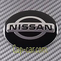 Наклейки для дисків з емблемою Nissan. ( Ніссан ) Ціна вказана за комплект з 4-х штук