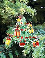 """Набор для вышивания крестом """"Новогодние игрушки"""" Т-05"""