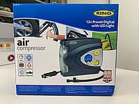 Компрессор с автостопом Ring RAC635 с цифровым манометром и сигнальным фонарем