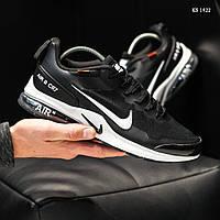 Мужские кроссовки Nike Air Presto CR7 (черно-белые) KS 1422
