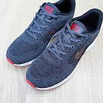 Мужские кроссовки Nike ZOOM Air (серо-красные) 10080, фото 6