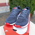 Мужские кроссовки Nike ZOOM Air (серо-красные) 10080, фото 9