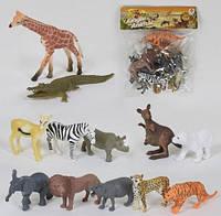 Набор игрушечных диких животных 2A 012