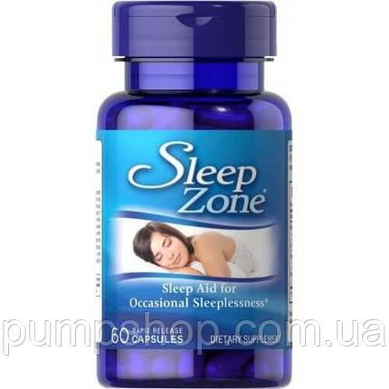 Комплекс для сна Puritan's Pride Sleep Zone 60 капс., фото 2