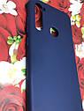 Xiaomi Redmi Note 8T чехол/ бампер/ накладка синий матовый цветной ультратонкий силиконовый, фото 2
