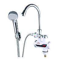 Электрический кран водонагреватель проточный для умывальника Zerix ELW08