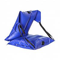 Кресло надувное байдарочное усиленное ЛКБ-850 синее