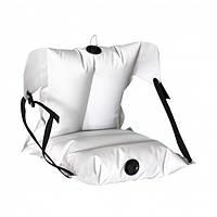 Кресло надувное байдарочное усиленное ЛКБ-850 светло-серое