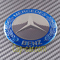Наклейки для дисков с эмблемой Mercedes Benz. ( Мерседес ) Цена указана за комплект из 4-х штук
