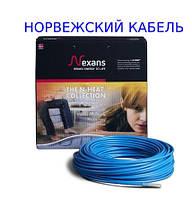 Теплый пол 2.9 м² Норвегия NAXANS Нагревательный кабель TXLP/2R, 500/17