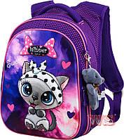 Рюкзаки для девочек Winner Stile 29*19*38 (фиолетовый)