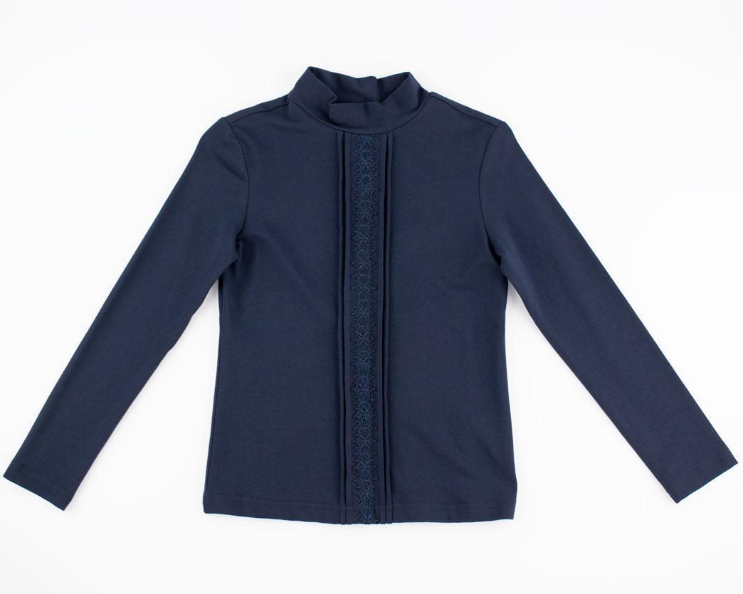 Блуза для девочек Deloras 128  синий Z61325