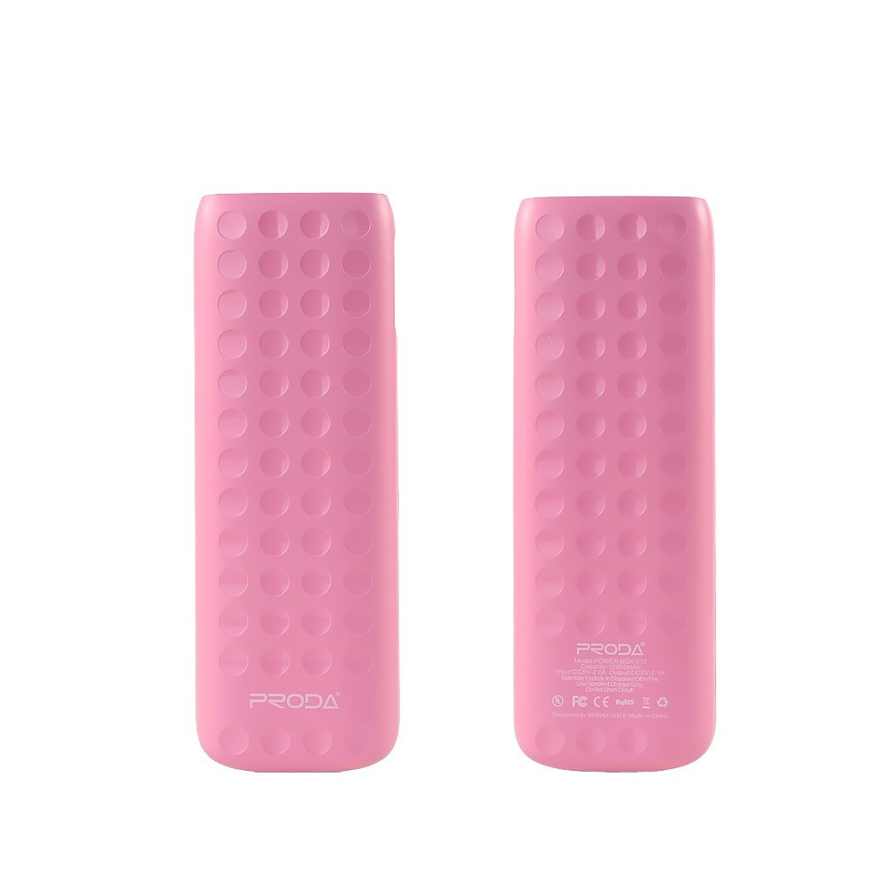 Power Bank Remax Lovely PPL-4 12000mAh Pink
