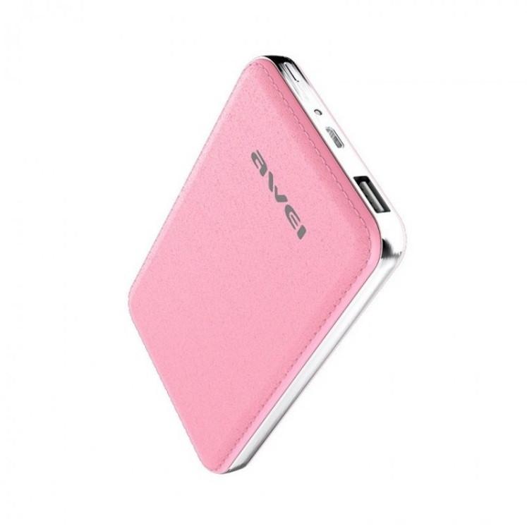 Power Bank Awei P84k 10400 mAh Pink