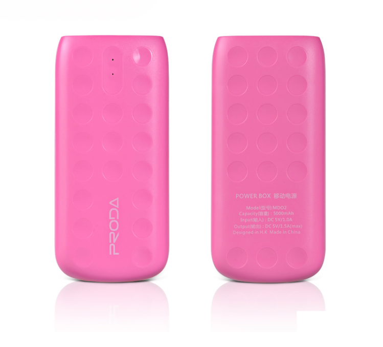 Power Bank Remax Proda Lovely PPL-2 5000mAh Pink